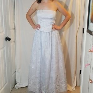 Zum Zum by Niki Livas Prom Dress Strapless 9/10